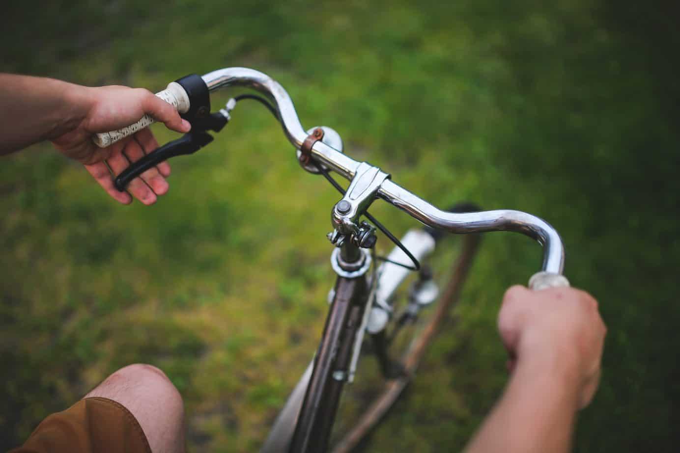Das Leben ist wie Fahrradfahren